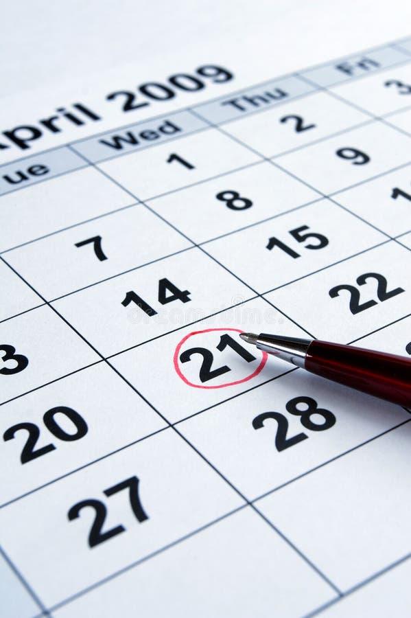 ημερολόγιο στοκ φωτογραφίες