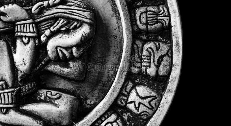 ημερολόγιο mayan στοκ φωτογραφίες με δικαίωμα ελεύθερης χρήσης