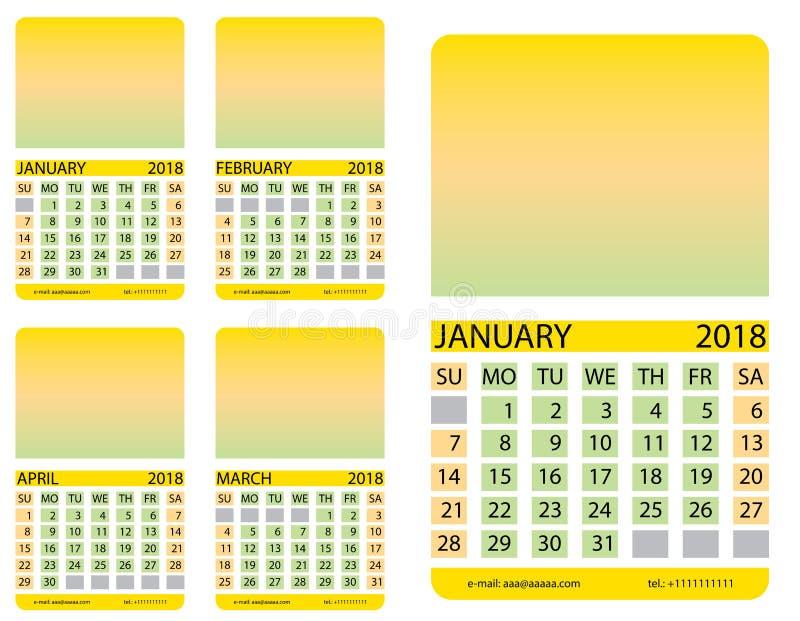 Ημερολογιακό πλέγμα Ιανουάριος Φεβρουάριος Μάρτιος apse ελεύθερη απεικόνιση δικαιώματος