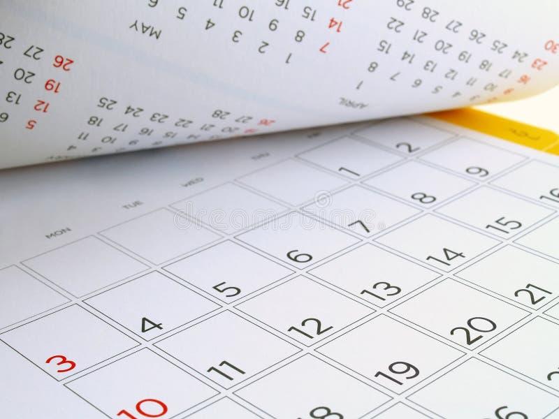 Ημερολόγιο γραφείων με τις ημέρες και τις ημερομηνίες τον Ιούλιο του 2016 στοκ φωτογραφίες
