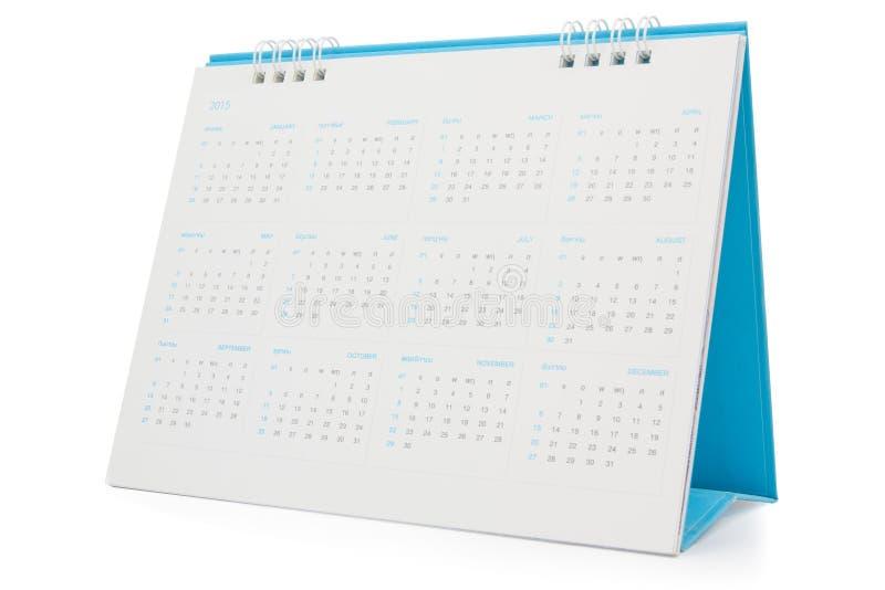 Ημερολόγιο 2015 γραφείων στοκ φωτογραφίες
