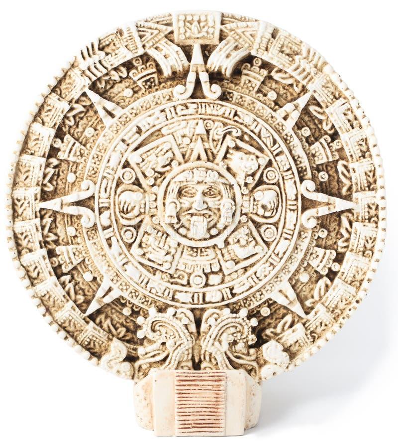 Ημερολόγιο της Maya στοκ εικόνες