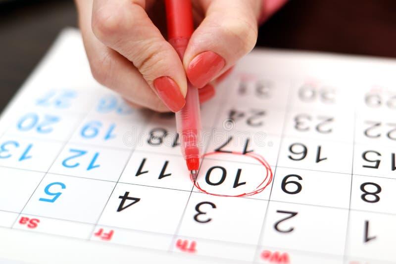 ημερολόγιο στοκ εικόνα με δικαίωμα ελεύθερης χρήσης