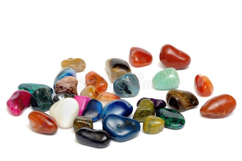 Ημιπολύτιμες πέτρες στοκ φωτογραφίες με δικαίωμα ελεύθερης χρήσης