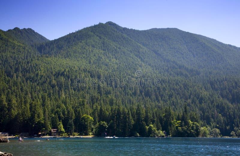 ημισεληνοειδής λίμνη στοκ φωτογραφία