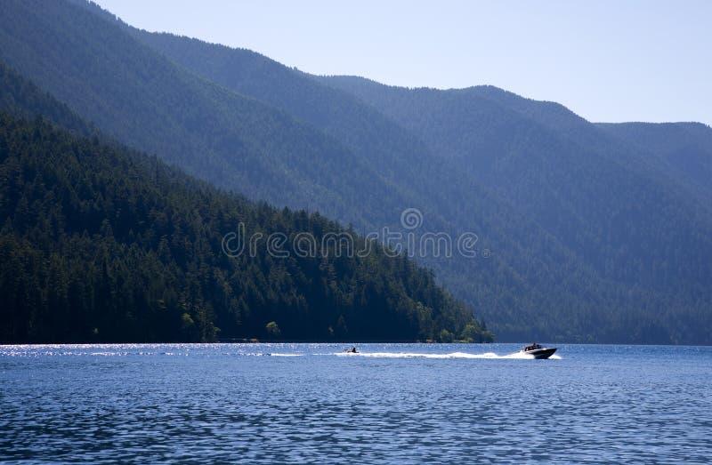 ημισεληνοειδής λίμνη στοκ εικόνα