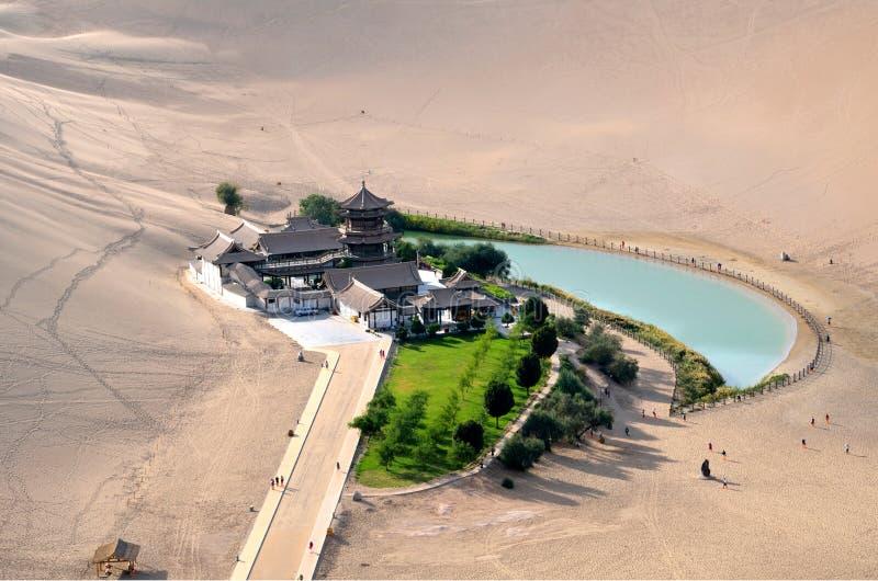 Ημισεληνοειδής λίμνη στοκ εικόνες