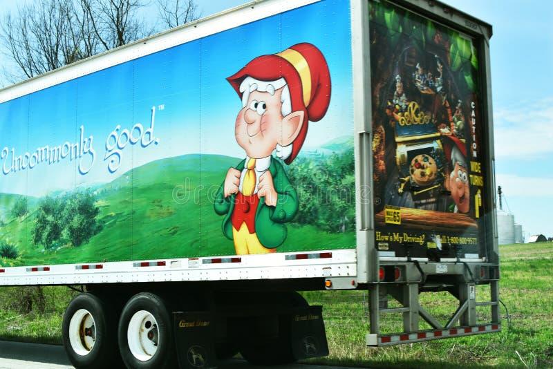 Ημι φορτηγό Keebler στοκ φωτογραφίες