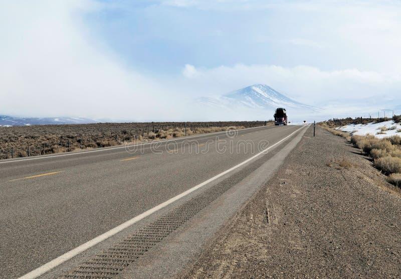 ημι truck εθνικών οδών στοκ φωτογραφία