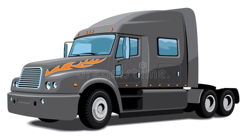 Ημι truck ελεύθερη απεικόνιση δικαιώματος
