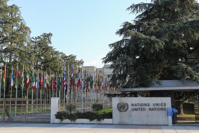 Ηνωμένα Έθνη στοκ φωτογραφία με δικαίωμα ελεύθερης χρήσης