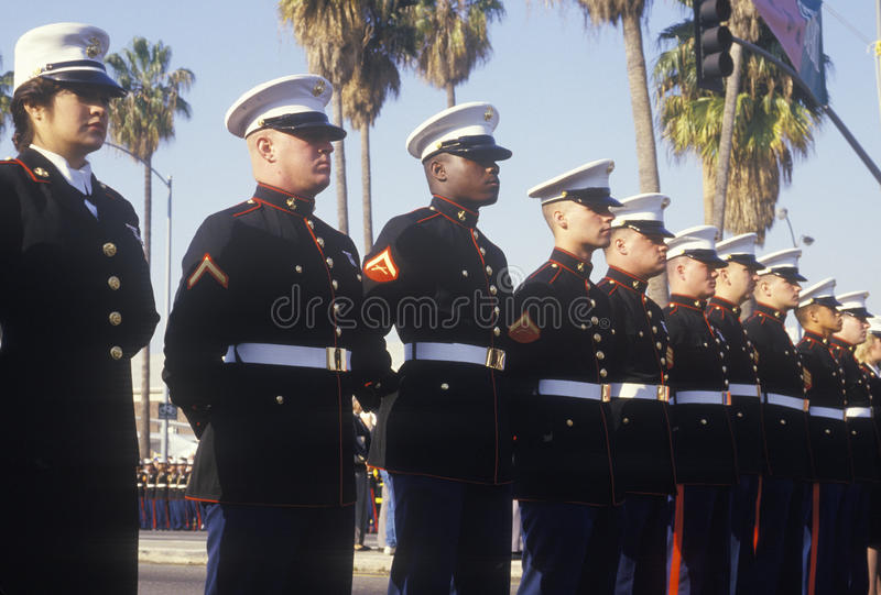 Ηνωμένα ναυτικά, Λος Άντζελες, Καλιφόρνια στοκ εικόνες
