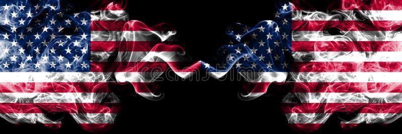 Ηνωμένες Πολιτείες της Αμερικής εναντίον των Ηνωμένων Πολιτειών της Α διανυσματική απεικόνιση