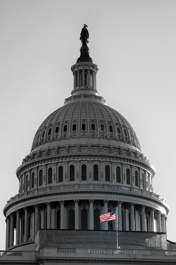 Ηνωμένες Πολιτείες Capitol, ΗΠΑ στοκ φωτογραφία με δικαίωμα ελεύθερης χρήσης