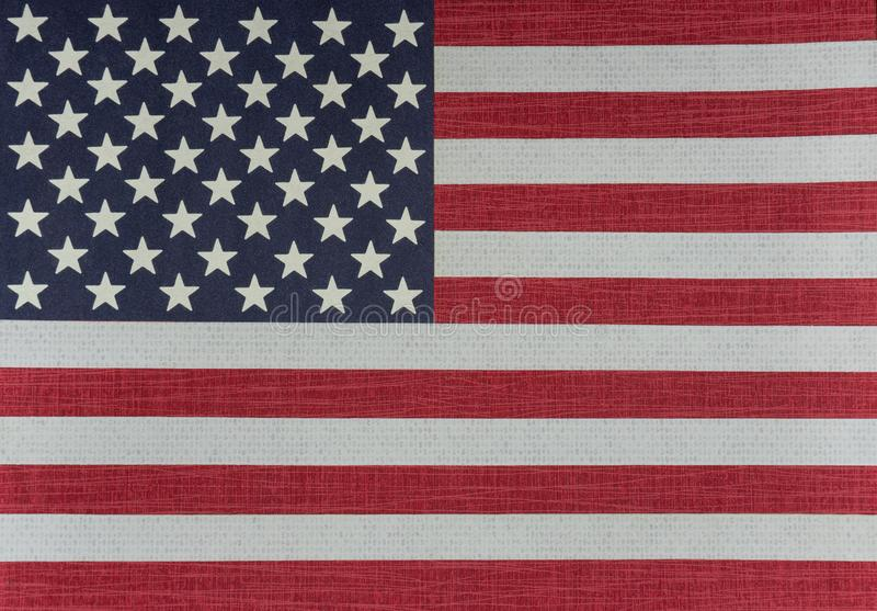 Ηνωμένη σημαία ΗΠΑ - EEUU στοκ φωτογραφία με δικαίωμα ελεύθερης χρήσης