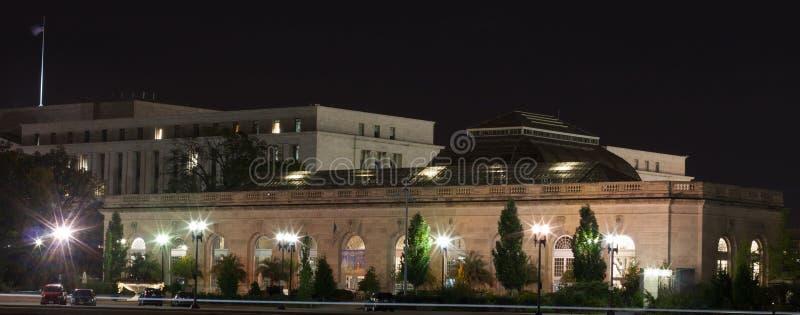 Ηνωμένος βοτανικός κήπος τη νύχτα στοκ φωτογραφία