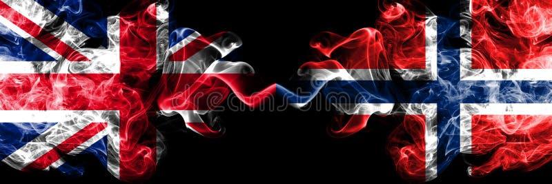 Ηνωμένο Βασίλειο εναντίον της Νορβηγίας, νορβηγικές καπνώείς απόκρυφ ελεύθερη απεικόνιση δικαιώματος