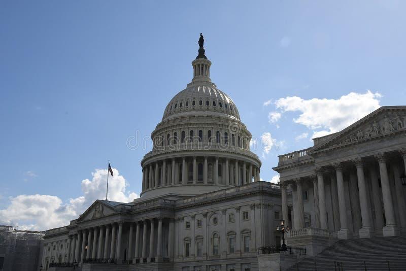 ΗΝΩΜΕΝΟ CAPITOL ΚΤΉΡΙΟ ΣΤΟ WASHINGTON DC στοκ εικόνα
