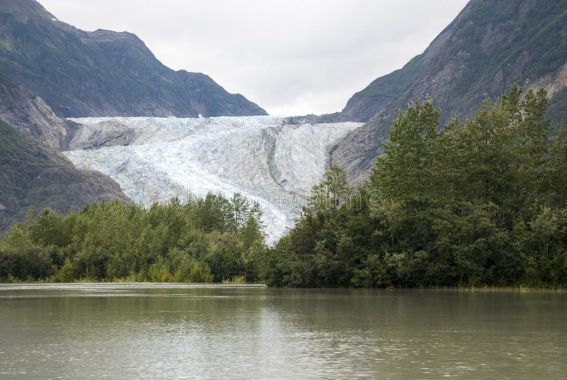 ΗΠΑ Αλάσκα - το σαφάρι αγριοτήτων σημείου παγετώνων - παγετώνας Davidson στοκ εικόνα