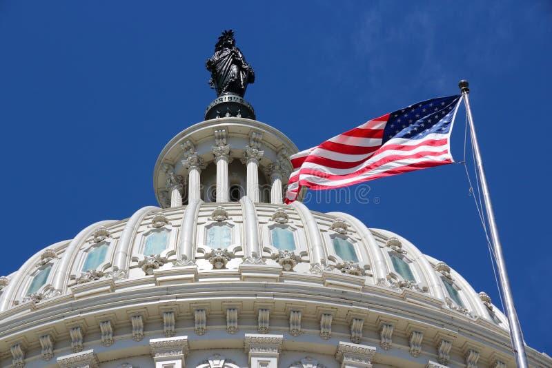 ΗΠΑ εθνικό Capitol στοκ φωτογραφία με δικαίωμα ελεύθερης χρήσης