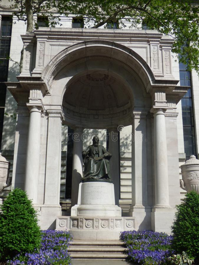 ΗΠΑ Νέα Υόρκη Άγαλμα του πάρκου του William στοκ φωτογραφία