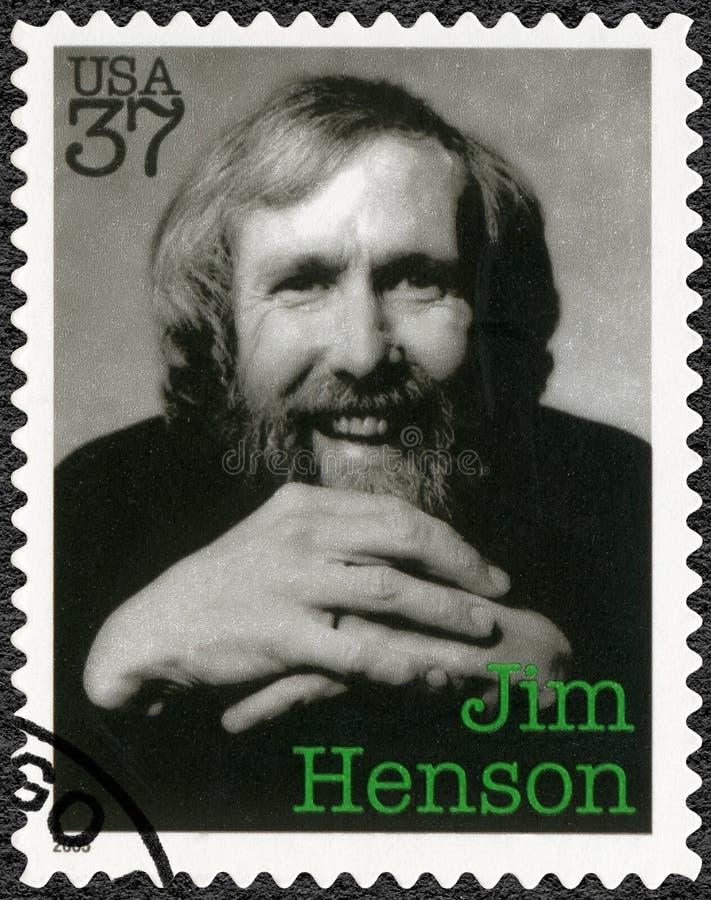 ΗΠΑ - 2005: παρουσιάζει James Maury Jim Henson το 1936-1990, puppeteer, καλλιτέχνης, σκιτσογράφος στοκ φωτογραφία με δικαίωμα ελεύθερης χρήσης