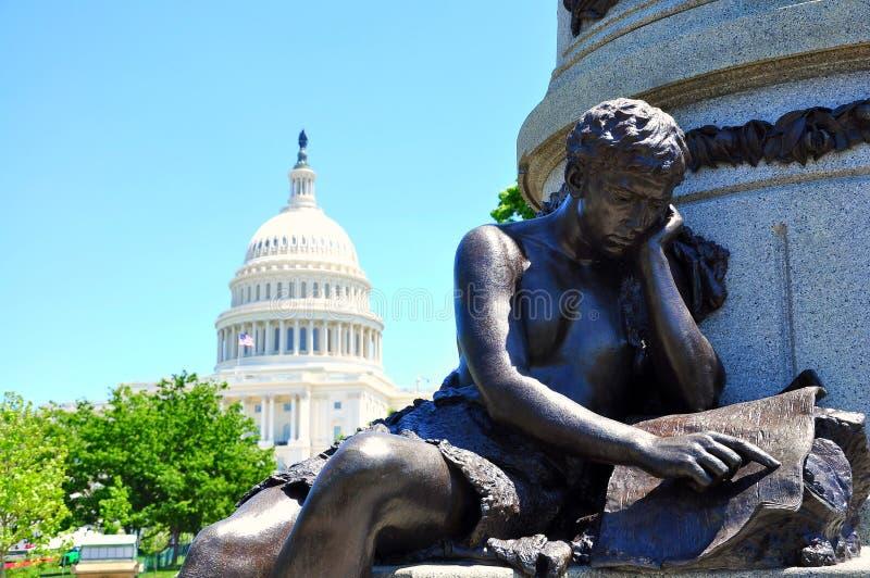 ΗΠΑ Capitol, Washington DC, ΗΠΑ στοκ φωτογραφία με δικαίωμα ελεύθερης χρήσης