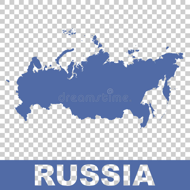 ηπειρωτικός χάρτης πολιτική Ρωσία Διάνυσμα επίπεδο διανυσματική απεικόνιση