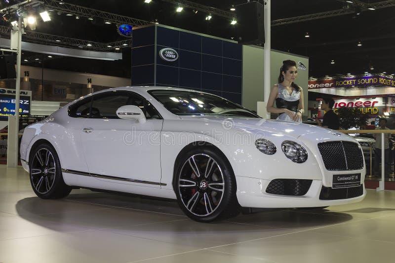 Ηπειρωτικό αυτοκίνητο της GT Bentley V8 στοκ φωτογραφία
