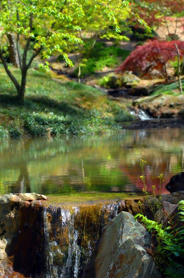 Ηρεμία στον κήπο Garvin στοκ εικόνες
