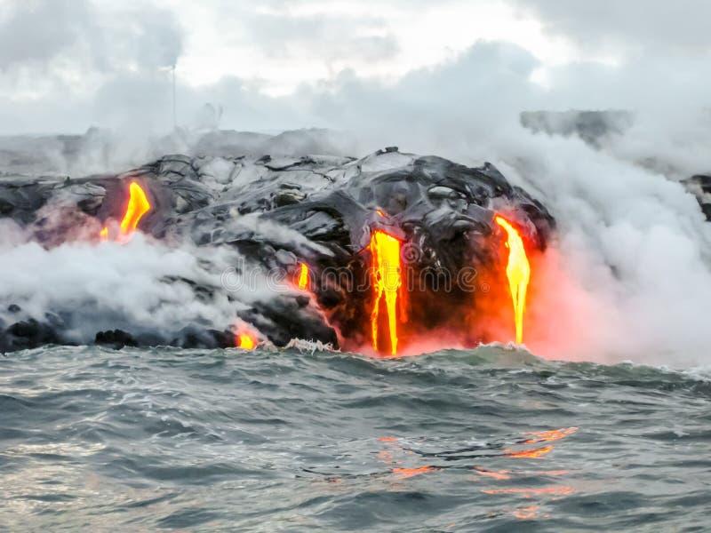 Ηφαίστειο της Χαβάης στοκ φωτογραφία με δικαίωμα ελεύθερης χρήσης