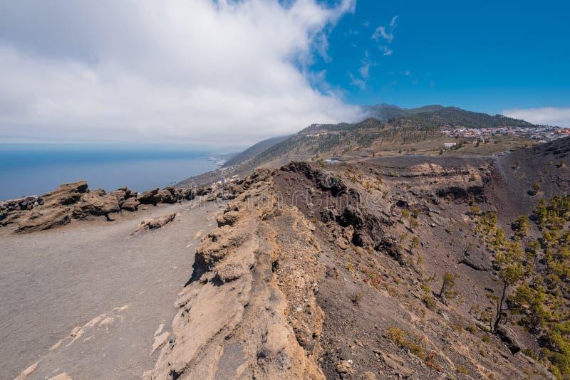 Ηφαίστειο του San Antonio στο νησί Λα Palma, Κανάρια νησιά στοκ φωτογραφία με δικαίωμα ελεύθερης χρήσης