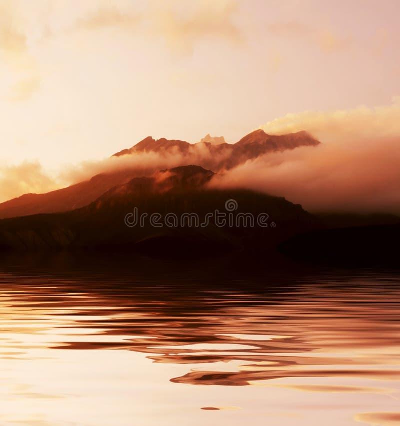ηφαίστειο στοκ εικόνες με δικαίωμα ελεύθερης χρήσης