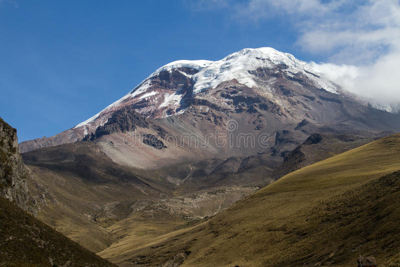 Ηφαίστειο Chimborazo στοκ φωτογραφίες