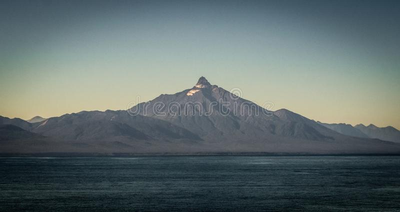 Ηφαίστειο Corcovado, Παταγωνία, Χιλή Quellon στοκ εικόνα με δικαίωμα ελεύθερης χρήσης