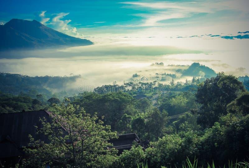 Ηφαίστειο Kintamani του Μπαλί στοκ εικόνες