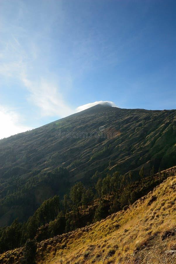 Ηφαίστειο Rinjanii στοκ φωτογραφίες με δικαίωμα ελεύθερης χρήσης