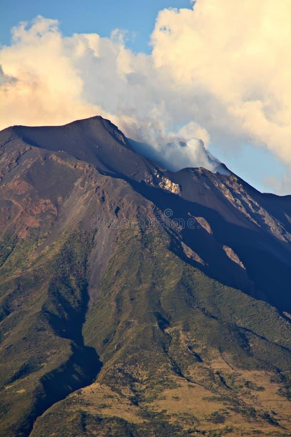 Ηφαίστειο Stromboli, Σικελία στοκ εικόνες με δικαίωμα ελεύθερης χρήσης