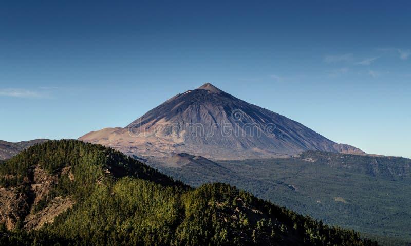Ηφαίστειο Teide Tenerife στο νησί, Κανάρια νησιά, Ισπανία στοκ φωτογραφία