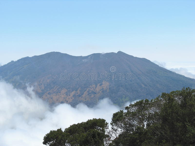 ηφαίστειο turrialba στοκ φωτογραφία με δικαίωμα ελεύθερης χρήσης