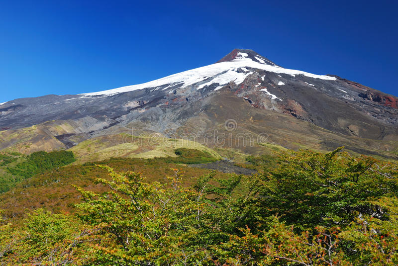 ηφαίστειο villarrica στοκ φωτογραφία με δικαίωμα ελεύθερης χρήσης