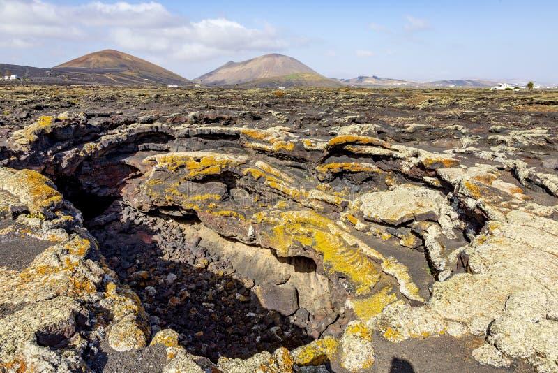 Ηφαιστειακή σπηλιά στο νησί Lanzarote r στοκ φωτογραφίες με δικαίωμα ελεύθερης χρήσης