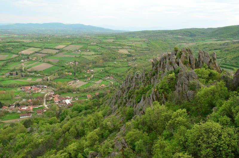 Ηφαιστειακοί βράχοι στοκ εικόνα