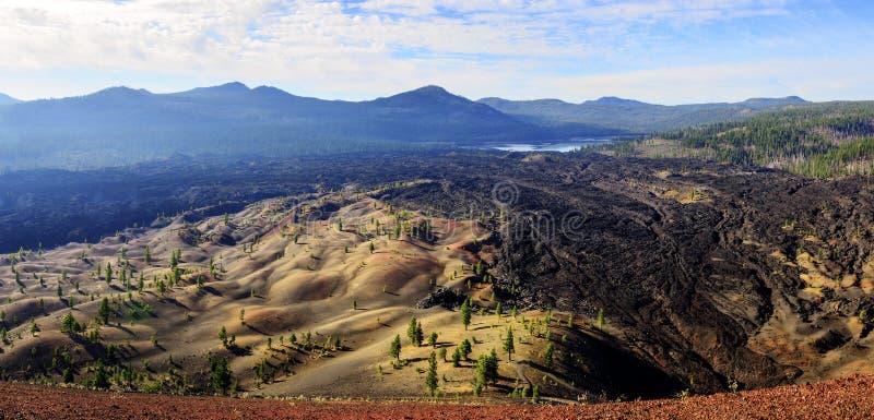 Ηφαιστειακό εθνικό πάρκο Lassen στοκ φωτογραφία με δικαίωμα ελεύθερης χρήσης