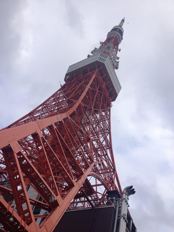 ληφθείς πύργος του Τόκιο του 2011 καλοκαίρι στοκ φωτογραφίες