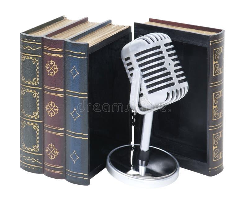 ηχητικά βιβλία στοκ εικόνα