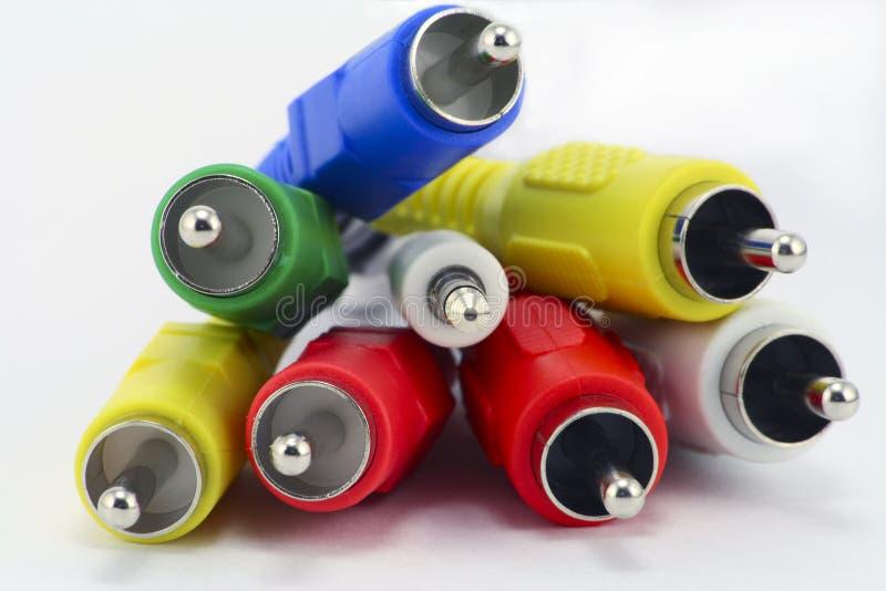 ηχητικό χρωματισμένο πολυ στοκ εικόνα