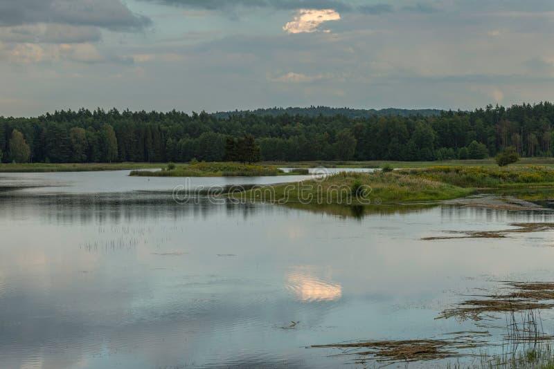 Ηχώ Stawy, εθνικό πάρκο Roztocze, Πολωνία στοκ φωτογραφία με δικαίωμα ελεύθερης χρήσης