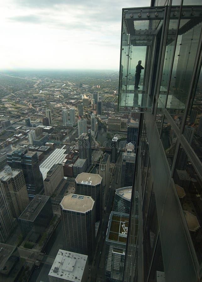 Η άποψη από τον πύργο Willis στοκ φωτογραφίες με δικαίωμα ελεύθερης χρήσης