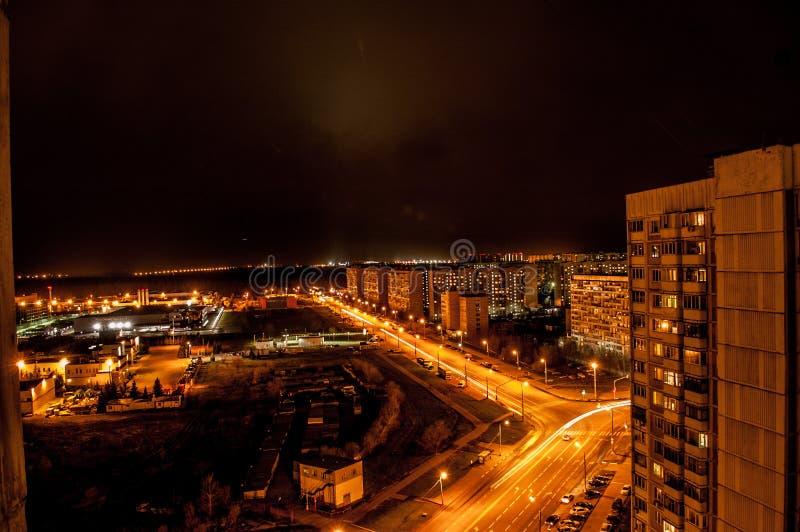 Η άποψη από το σπίτι σε Peredelkino στοκ εικόνες